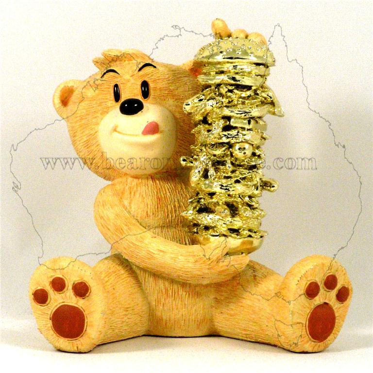Golden shower bears